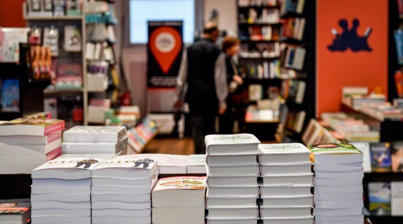 La lettura ai tempi del Coronavirus. Foto di una libreria.