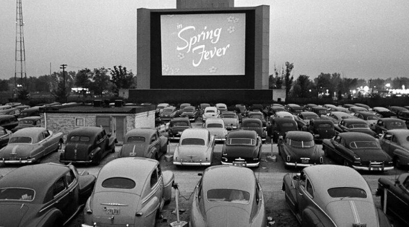Drive-in negli anni '50