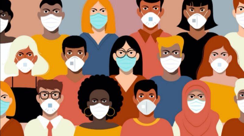 persone con mascherine